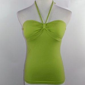Tommy Bahama halter top size xxs green